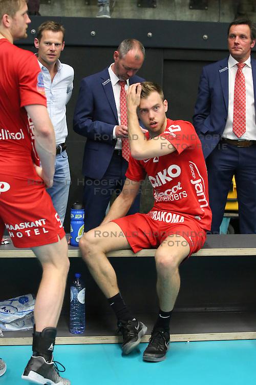 20160505 BEL: Volleybal: Noliko Maaseik - Knack Roeselare, Maaseik  <br />Gijs Jorna