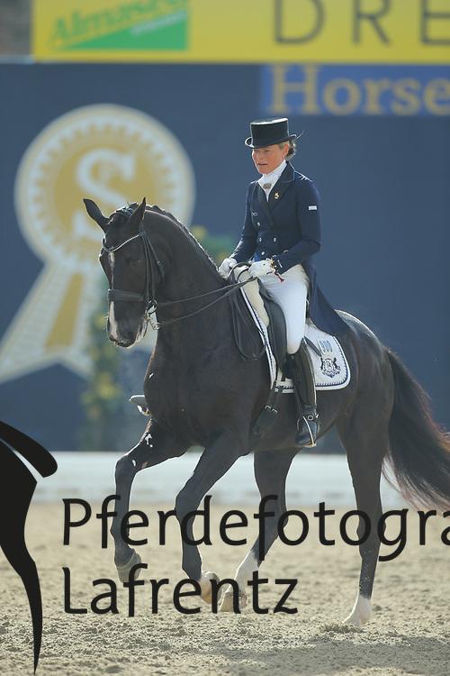 Lindh, Mikaela, Skovlunds Más Guapo<br /> Hagen - Horses and Dreams 2013<br /> Grand Prix<br /> © www.sportfotos-lafrentz.de/Stefan Lafrentz