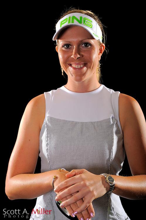 Caroline Westrup during a portrait shoot prior to the LPGA Future Tour's Daytona Beach Invitational at LPGA International's Championship Courser on March 28, 2011 in Daytona Beach, Florida... ©2011 Scott A. Miller