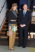 Princess M&aacute;xima 11 April 2006 at opening tentoonstelling letters Anne Frank. Her royal highness princess M&aacute;xima of the The Netherlands attends Tuesday afternoon 11 April in the Amsterdam historical museum the opening of the exibition ' Anne Frank - its life in letters '.<br />