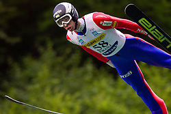 Jure Sinkovec (SLO) of SSK SAM Ihan during Ski Jumping Summer Continental Cup in Kranj, on July 2, 2011, in Kranj, Slovenia. (Photo by Vid Ponikvar / Sportida)