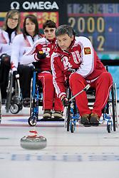 Marat Romanov, Svetlana Pakhomova, Wheelchair Curling Finals at the 2014 Sochi Winter Paralympic Games, Russia