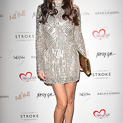Claire Merry attends gala dinner and concert to raise money and awareness for the Melissa Bell Foundation and Style For Stroke Foundation.