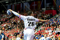 12.05.2017, Zatika Sport Centre, Porec, CRO, EHF EM, Herren, Österreich vs Frankreich, Gruppe B, im Bild Julian Ranftl (AUT) // during the preliminary round, group B match of the EHF men's Handball European Championship between Austria and France at the Zatika Sport Centre in Porec, Croatia on 2017/05/12. EXPA Pictures © 2018, PhotoCredit: EXPA/ Sebastian Pucher
