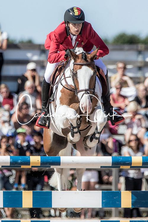 Philippaerts Thibault, (BEL), Okehurst Little Bow Wow<br /> Pony European Championships Malmo? 2015<br /> &copy; Hippo Foto - Lotta Gyllensten