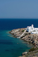 The Chrysopiyi Monastery on Sifnos, The Cyclades, The Greek Islands, Europe