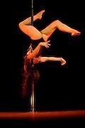 Lundi 14 Septembre 2009. Paris, France..Premiere competition Officielle de Pole Dance en France..20eme Theatre (Paris 20eme)..Marie Dunot