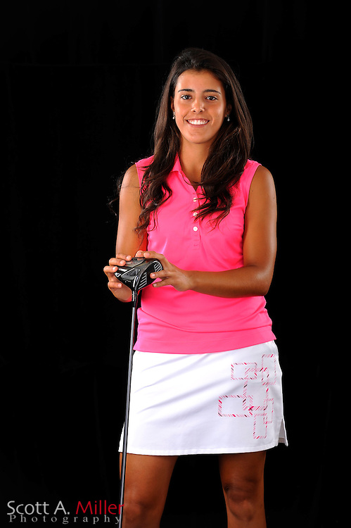 Martina Gavier during a portrait shoot prior to the Symetra Tour's Florida's Natural Charity Classic at the Lake Region Yacht and Country Club on March 21, 2012 in Winter Haven, Fla. ..©2012 Scott A. Miller.