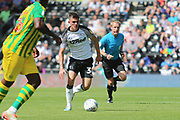 Derby County midfielder Jason Knight (38) during the EFL Sky Bet Championship match between Derby County and West Bromwich Albion at the Pride Park, Derby, England on 24 August 2019.