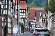 Fachwerk in Ronneburg, Vogelsberg, Hessen, Deutschland