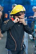 Brad Kahlefeldt (AUS), November 3, 2013 - Triathlon : Noosa Triathlon, Noosa Pde, Noosa, Queensland, Australia. Credit: Lucas Wroe