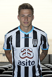 Reuven Niemeijer during the team presentation of Heracles on July 14, 2017 at the Polman stadium in Almelo, The Netherlands