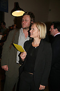 MARIELLA FROSTRUP AND JASON MCCRUE, Royal  Academy of  Arts summer exhibition opening night. Royal academy. Piccadilly. London. 6 June 2007.  -DO NOT ARCHIVE-© Copyright Photograph by Dafydd Jones. 248 Clapham Rd. London SW9 0PZ. Tel 0207 820 0771. www.dafjones.com.