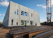Construction of the new Sharpstown High School, November 2, 2016.