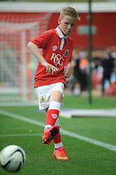 Mascot - Photo mandatory by-line: Dougie Allward/JMP - Mobile: 07966 386802 - 27/09/2014 - SPORT - Football - Bristol - Ashton Gate - Bristol City v MK Dons - Sky Bet League One