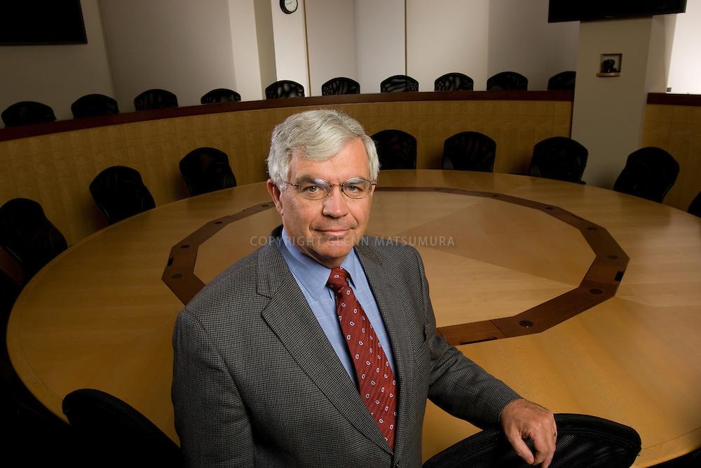 John Taylor, Stanford professor and former Under Secretary of Treasury for International Affairs.