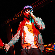 Washington, D.C. - April 26, 2010:  Rapper Talib Kweli and DJ Hi-Tek perform as the group Reflection Eternal during a sold out show at the Black Cat. (Photo by Kyle Gustafson/For The Washington Post)