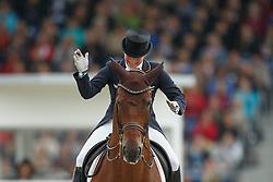 Werth Isabell, (GER), Don Johnson FRH<br /> Grand Prix Kur<br /> European Championships - Aachen 2015<br /> © Hippo Foto - Dirk Caremans<br /> 16/08/15