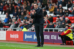 March 2, 2019 - Sunderland, England, United Kingdom - Sunderland manager Jack Ross during the Sky Bet League 1 match between Sunderland and Plymouth Argyle at the Stadium Of Light, Sunderland on Saturday 2nd March 2019. (Credit Image: © Mi News/NurPhoto via ZUMA Press)