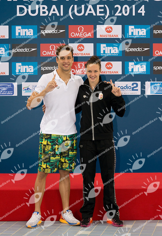 FINA Mastbank Swimming World Cup 2014<br /> Dubai, UAE  2014  Aug.31 th - Sept.1st<br /> Day2 - Sept.1  finals<br /> Photo G. Scala/Deepbluemedia