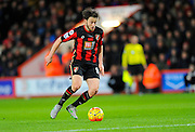 AFC Bournemouth midfielder Harry Arter during the Barclays Premier League match between Bournemouth and West Ham United at the Goldsands Stadium, Bournemouth, England on 12 January 2016. Photo by Graham Hunt.