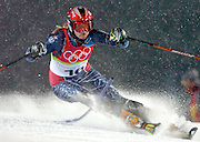 2/17/06 -- The 2006 Torino Winter Olympics -- Sestriere , Italy. -- NIGHT Alpine Skiing - Women's Slalom Combined -- .****** This information is from the original assignment and is for reference only.  Please remove from final caption. *********** ..Photo by Scott Sady, USA TODAY staff.
