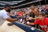 140721-MLB: Marlins at Braves