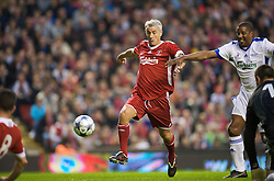 LIVERPOOL, ENGLAND - Thursday, May 14, 2009: Liverpool Legends' Ian Rush during the Hillsborough Memorial Charity Game at Anfield. (Photo by David Rawcliffe/Propaganda)