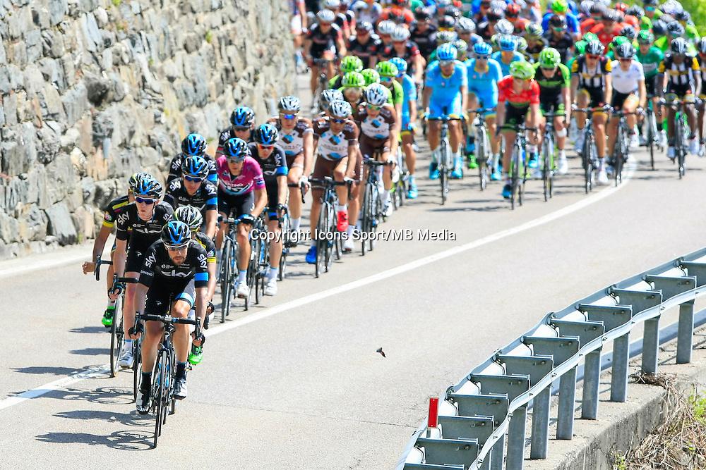 Equipe Sky - 23.04.2015 - Tour du Trentin - Etape 03<br /> Photo : Pierre Teyssot / Icon Sport