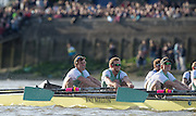 London, Great Britain, foreground CUBC bow there. CUBC.<br /> Jasper HOLST, Luke JACKET, Joshua HOOPER,  racing OUBC. during the The BNY Mellon Men's Boat Race, Championship Course. Tideway Week, Putney to Mortlake. ENGLAND. <br /> <br /> Saturday  11/04/2015 <br /> <br /> [Mandatory Credit; Peter Spurrier/Intersport-images]<br /> <br /> OUBC. <br /> Will GEFFEN,  James O'CONNOR, Henry GOODIER, Tom SWARTZ, Jamie COOK, Mike DISANTO, Sam O'CONNER, Constantine LOULOUDIS and cox Will HAKIM<br /> <br /> CUBC.<br /> Jasper HOLST, Luke JACKET, Joshua HOOPER, Alexander LEICHTER, William WARR, Matthew JACKSON, Ben RUBLE, Henry HOFFSTOT and Cox Ian MIDDLETON.
