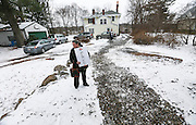A supporter waits outside of a campaign party for Republican presidential candidate Sen. Ted Cruz, R-Texas, in Andover, MA, Friday, Jan. 8, 2016.  CREDIT: Cheryl Senter for The New York Times