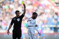 Alexandre LACAZETTE / Nicolas RAINVILLE - 09.05.2015 -  Caen / Lyon  - 36eme journee de Ligue 1<br />