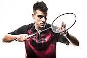 Mobilstudio: Badmintonspieler