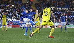 Joe Ward of Peterborough United scores the winning goal against Burton Albion - Mandatory by-line: Joe Dent/JMP - 23/11/2019 - FOOTBALL - Weston Homes Stadium - Peterborough, England - Peterborough United v Burton Albion - Sky Bet League One