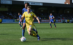 Gavin Reilly of Bristol Rovers on the ball - Mandatory by-line: Arron Gent/JMP - 19/04/2019 - FOOTBALL - Cherry Red Records Stadium - Kingston upon Thames, England - AFC Wimbledon v Bristol Rovers - Sky Bet League One
