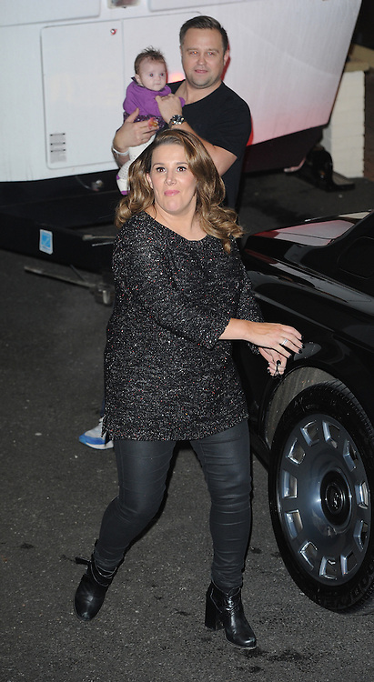 Sam Bailey leaving the X Factor studios in Wembley, UK. 07/12/2014<br />