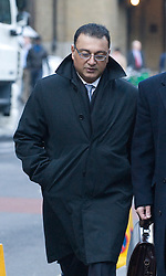 © Licensed to London News Pictures. 16/01/2012. London, UK. Police Commander Ali Dezaei arriving at  Southwark Crown Court today (16/01/2012) where he faces charges of misconduct in a public office and perverting the course of justice. Photo credit : Ben Cawthra/LNP