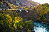 Richard Furhoff 100101_NewZealand_DSC4245.tif .Bridge over Kawarou Gorge, New Zealand...