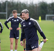 Josh Meekings during Dundee training at the University Grounds, Riverside, Dundee<br /> <br />  - &copy; David Young - www.davidyoungphoto.co.uk - email: davidyoungphoto@gmail.com