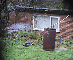 © Licensed to London News Pictures. 07/01/2016<br />  Sian Blake's garden at her home in Erith,Kent. Police tents and search teams have gone.<br /> <br /> Ex-Eastenders actress Sian Blake's home in Erith,Kent has turned into a crime scene (07.01.2016) with officers from the Met's Homicide and Major Crime Command leading the murder investigation.<br /> <br /> (Byline:Grant Falvey/LNP)