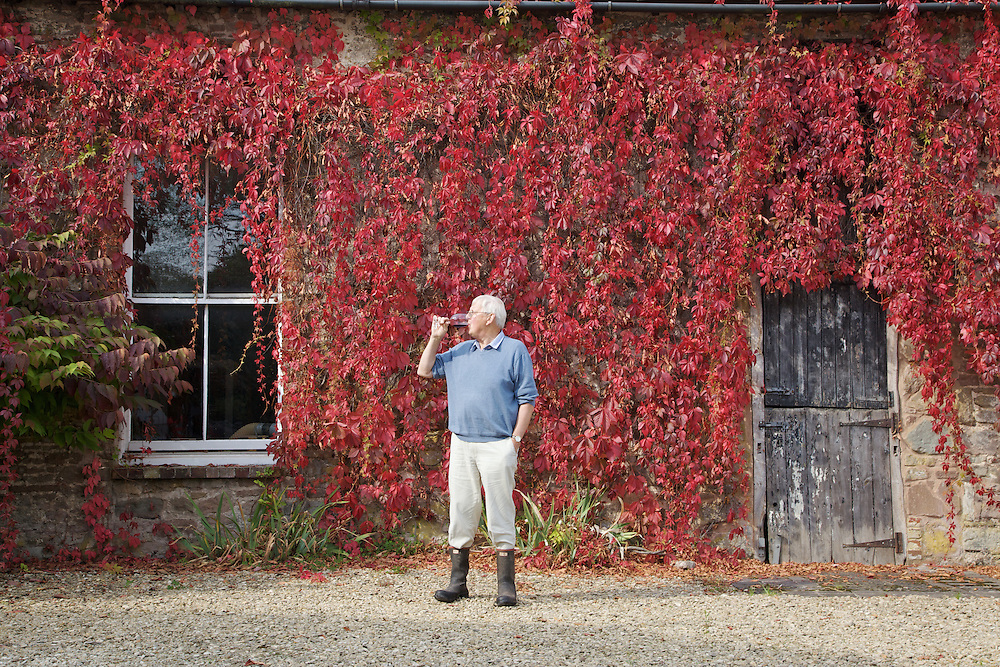 Will Gissane outside the winery at his Herefordshire home<br /> CREDIT: Vanessa Berberian for The Wall Street Journal<br /> HOBBY-Gissane/UK