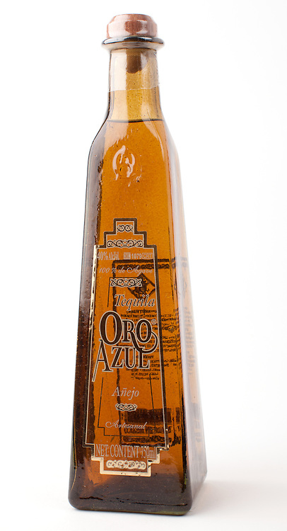 Oro Azul anejo -- Image originally appeared in the Tequila Matchmaker: http://tequilamatchmaker.com