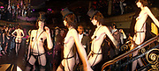Fashion show. 25th anniversary party and fashion show by Agent Provocateur at the Cafe de Paris, Coventry Street, London W1 on 14th February 2005.ONE TIME USE ONLY - DO NOT ARCHIVE  © Copyright Photograph by Dafydd Jones 66 Stockwell Park Rd. London SW9 0DA Tel 020 7733 0108 www.dafjones.com