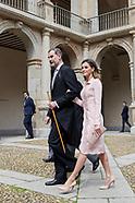 042318 Spanish Royals Attend Cervantes Awards Ceremony to Sergio Ramirez