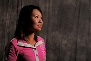 Noriko Inoue during  portrait session prior to the second stage of LPGA Qualifying School at the Plantation Golf and Country Club on Oct. 6, 2013 in Vience, Florida. <br /> <br /> <br /> ©2013 Scott A. Miller