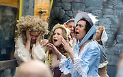 """The Headless Kings presented an re-enactment of """"The King's Head"""" at the pub of the same name in Galway City  for Terry Wogan's Ireland a 2 part BBC programme by the Limerick man and BBC presenter. Photo:Andrew Downes"""