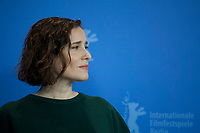 Actress Angeliki Papoulia at the photocall for the film The Miracle Of The Sargasso Sea (To Thávma Tis Thálassas Ton Sargassón) at the 69th Berlinale International Film Festival, on Saturday 9th February 2019, Hotel Grand Hyatt, Berlin, Germany.