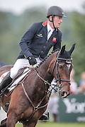 SAMUEL THOMAS II ridden by Oliver Townend during the final jumping event at Bramham International Horse Trials 2016 at  at Bramham Park, Bramham, United Kingdom on 12 June 2016. Photo by Mark P Doherty.