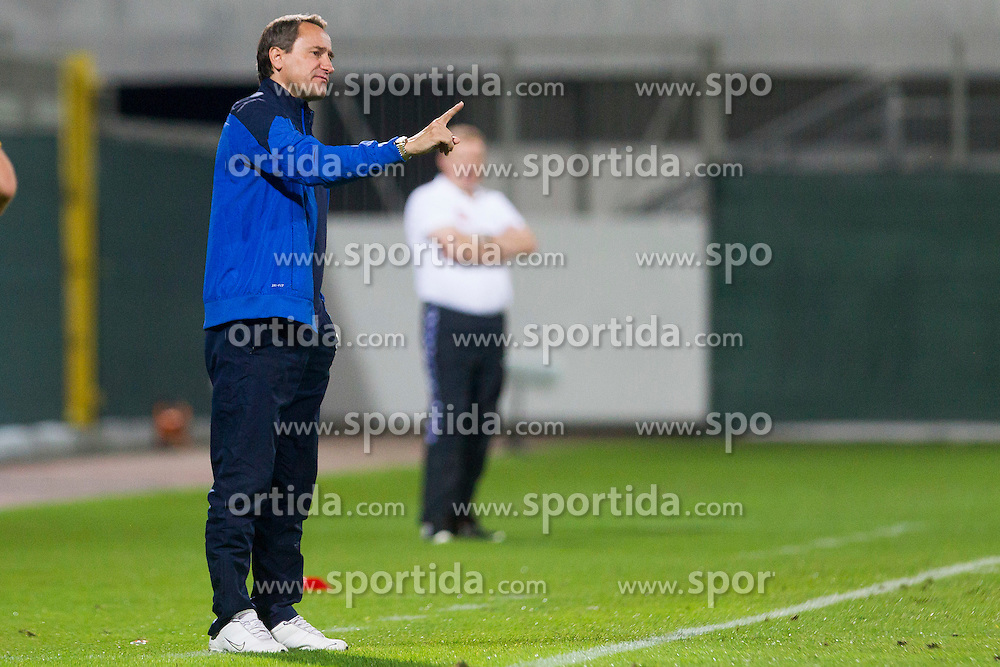 Primoz Gliha, head coach of Slovenia during football match between U21 National Teams of Slovenia and Lithuania in 2nd Round of UEFA 2017 European Under-21 Championship Qualification on September 4, 2015 in Arena Petrol, Celje, Slovenia. Photo by Urban Urbanc / Sportida