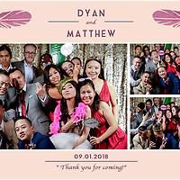 Dyan & Matthew Wedding PhotoBooth